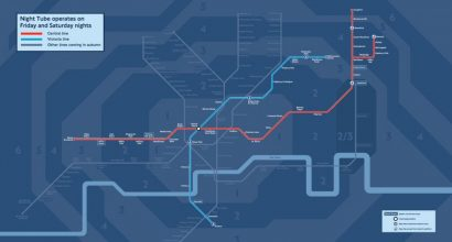 Night Tube opens on Northern Line!