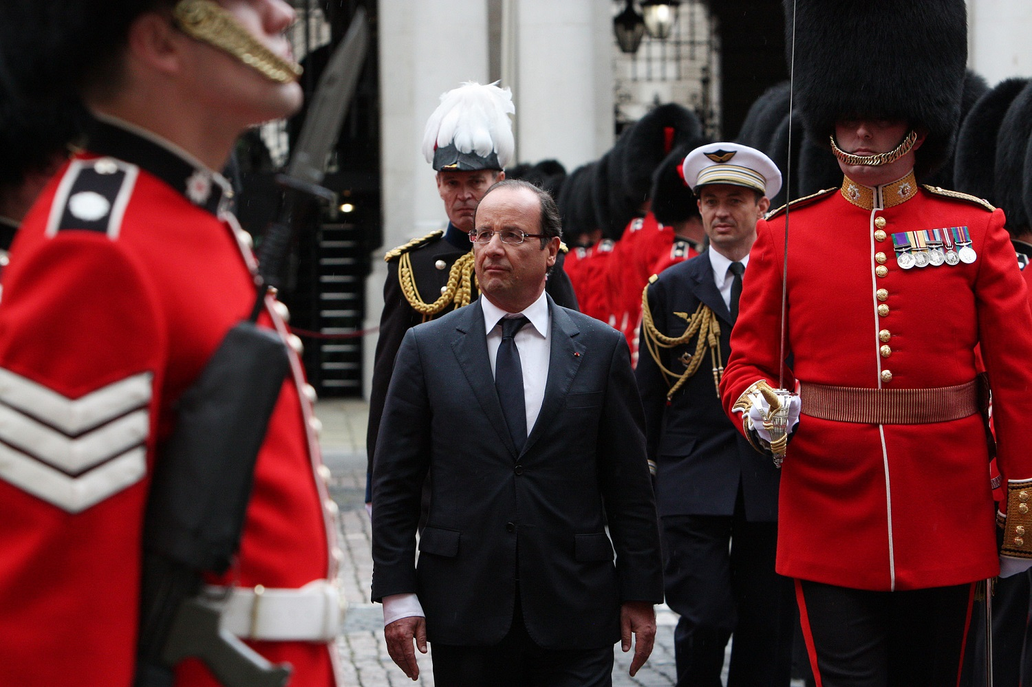 President Hollande in the UK