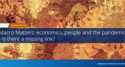Macro Matters: economics, people and the pandemic - is there a missing link?